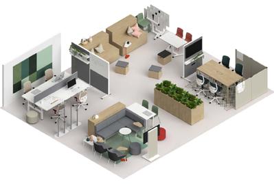 agile g5 - Mobiliario de oficina adaptado a las nuevas necesidades de las empresas