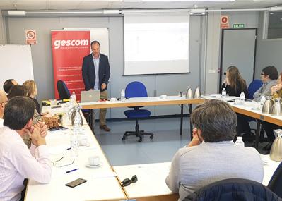 La FER acoge una jornada de Gescom sobre Internet de las Cosas (IoT) para la prevención laboral.