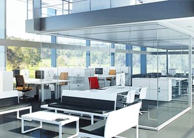 Oficinas abiertas vs despachos privados