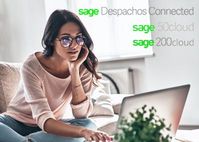 """sage cloud bg - Las ventajas de la nube o """"cloud"""" para implantar el teletrabajo"""