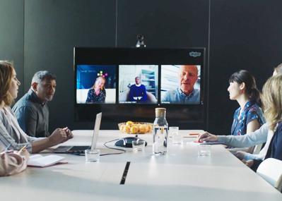 videoconferenciasempresas bg - Aumentan las reuniones virtuales y videoconferencias en las empresas en 2020