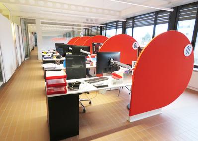 ESTILO [Mobiliario y Contract] ha diseñado el interior de la nueva agencia integral de empleo y formación