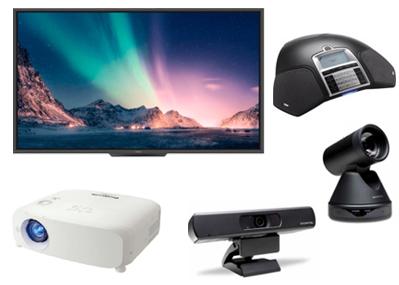 equipamiento videoconferencias