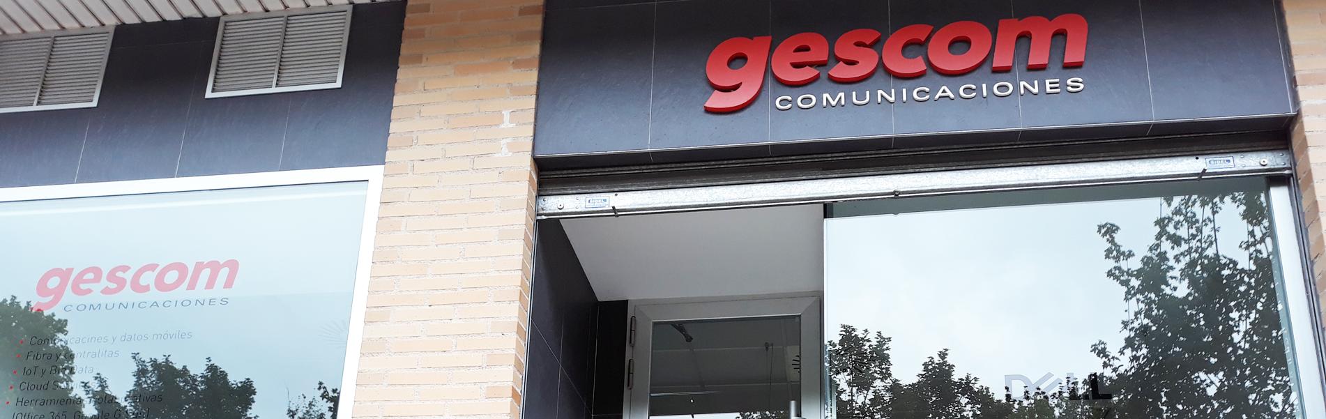 fachada gescom - Sistemas informática
